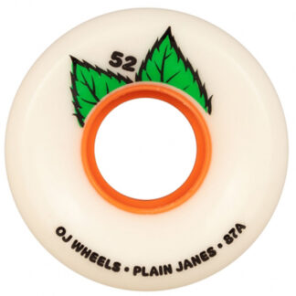 OJ WHEELS PLAIN JANE KEYFRAME 52MM 87A WHITE