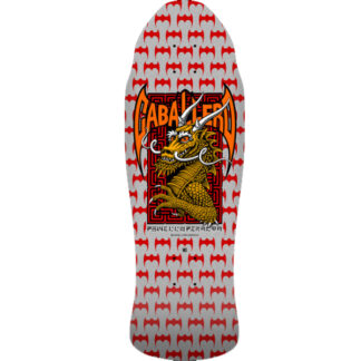 POWELL PERALTA PRO STEVE CABALLERO OLD SCHOOL STREET SILVER 9.625'' DECK