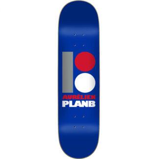 "PLAN B ORIGINAL AURELIEN 8.0"" DECK BLUE"