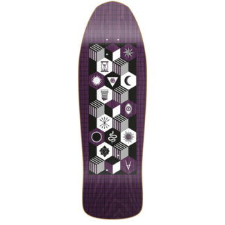 "ANTIZ MYSTIC DEEP VIOLET 10"" OLD SCHOOL DECK"