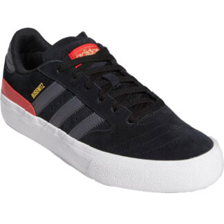 ADIDAS SKATEBOARDING BUSENITZ VULC II SHOES - CORE BLACK RED -