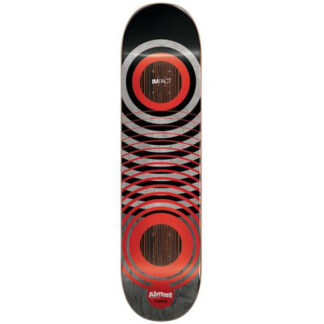 """ALMOST YOUNESS IMPACT RED RINGS GAMES 8.25"""" DECK"""
