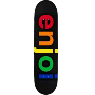 "ENJOI SPECTRUM BLACK R7 8.25"" DECK"