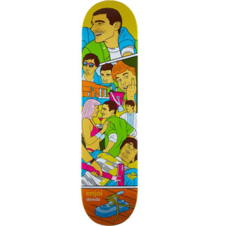 "ENJOI DEEDZ WEEKEND AT LOUIES R7 8.0"" DECK"