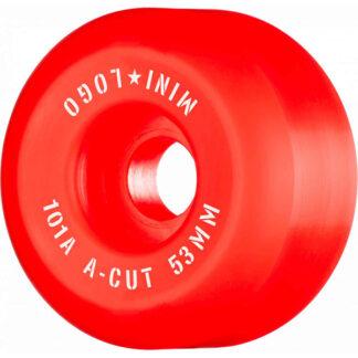 MINI LOGO WHEELS A-CUT 101A 53MM RED