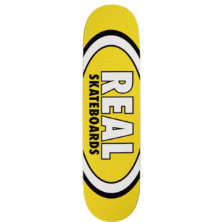 """REAL TEAM CLASSIC OVAL 8.06"""" DECK YELLOW"""