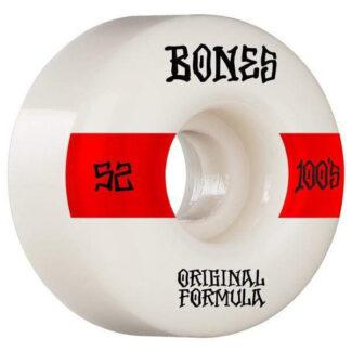 BONES WHEELS OG FORMULA V4 100A 52MM WIDE