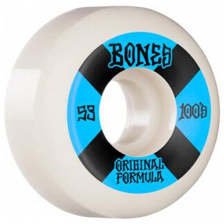 BONES WHEELS OG FORMULA V5 100A 53MM SIDECUT