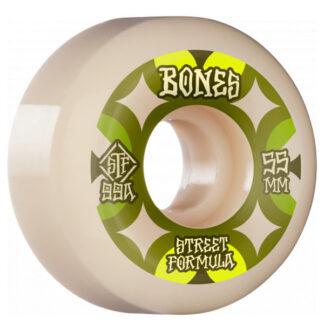 BONES WHEELS STF RETRO V5 55MM 99A SIDECUT WHITE