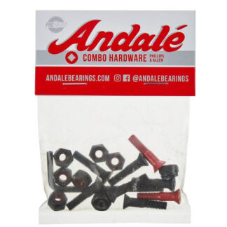 "ANDALE COMBO HARDWARE 7/8"" RED"