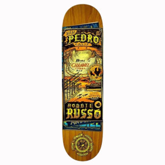 """ANTI HERO RUSSO MAPS TO THE SKATERS HOMES 8.25"""" DECK"""