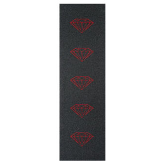DIAMOND GRIPTAPE BRILLIANT RED MICROFORATO 9″