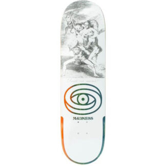"MADNESS DONDE R7 8.5"" DECK WHITE"