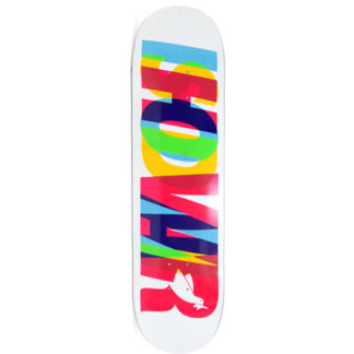 """REAL WAIR ECLIPSING 8.5"""" DECK WHITE"""
