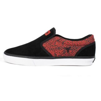 FALLEN THE EASY SHOES RED SPECKLE