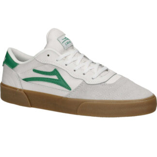 LAKAI CAMBRIDGE SHOES WHITE/GRASS SUEDE