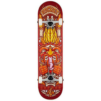 """ROCKET CHIEF PILE UP 7.75"""" SKATE COMPLETO RED"""