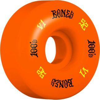 BONES WHEELS OG FORMULA V1 100A 52MM ORANGE