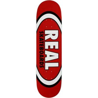"""REAL TEAM CLASSIC OVAL 8.12"""" DECK"""