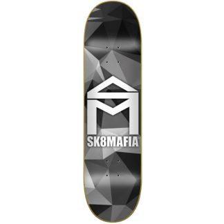 """SK8MAFIA CAMO 8.25"""" DECK GREY"""