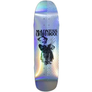 """MADNESS BACK HAND R7 8.5"""" DECK HOLOGRAPHIC"""